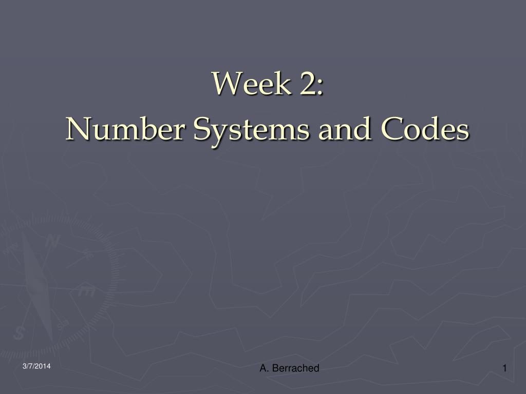 Week 2: