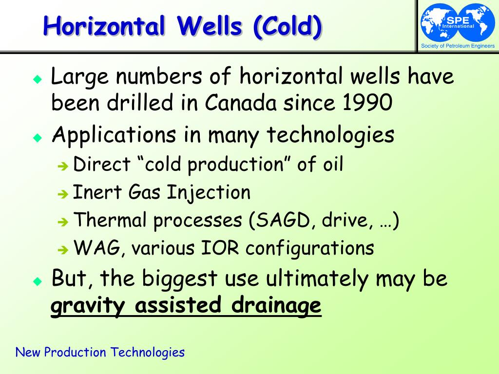 Horizontal Wells (Cold)