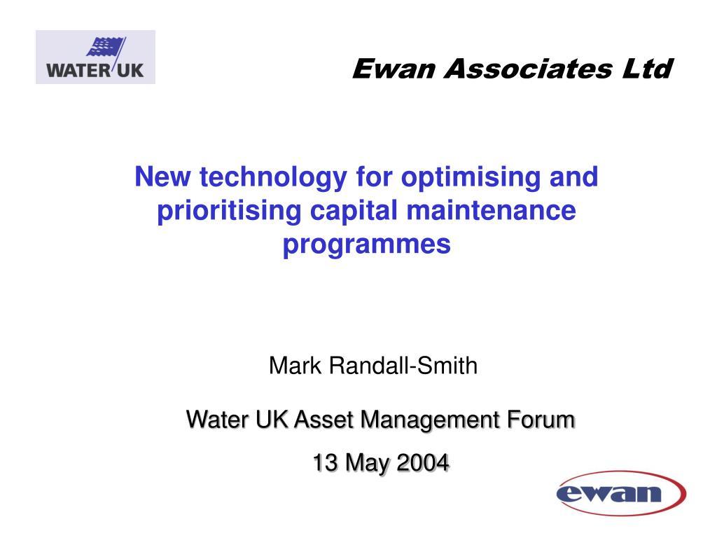 Ewan Associates Ltd