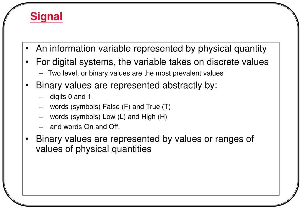 An information variable represented by physical quantity
