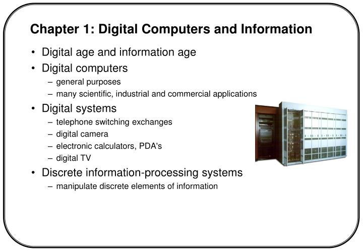 Digital age and information age