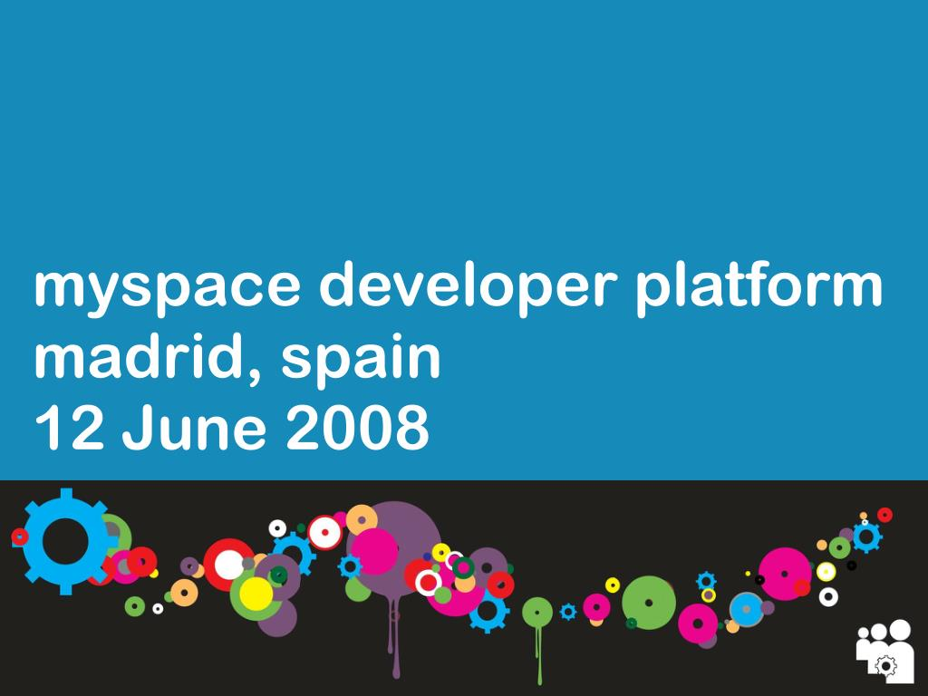 myspace developer platform