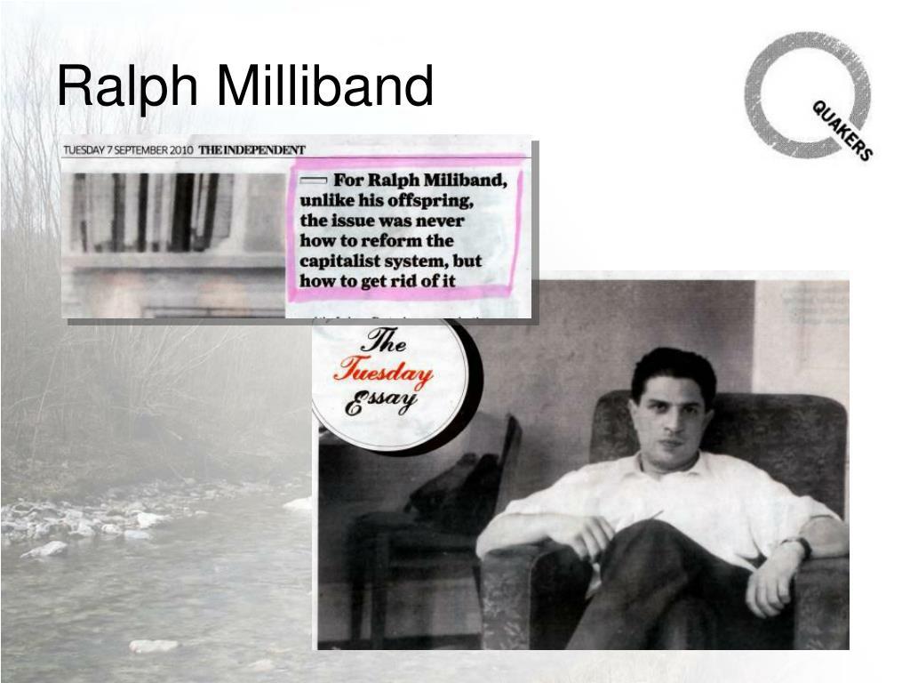 Ralph Milliband