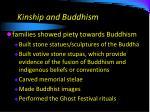 kinship and buddhism