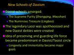 new schools of daoism