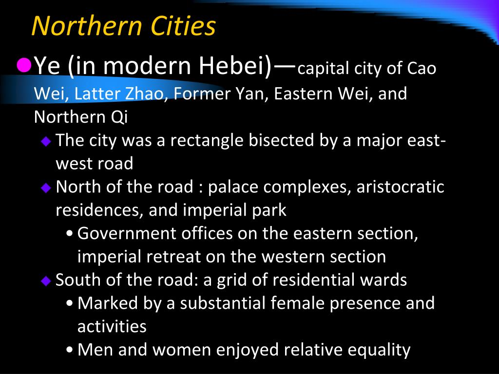 Northern Cities