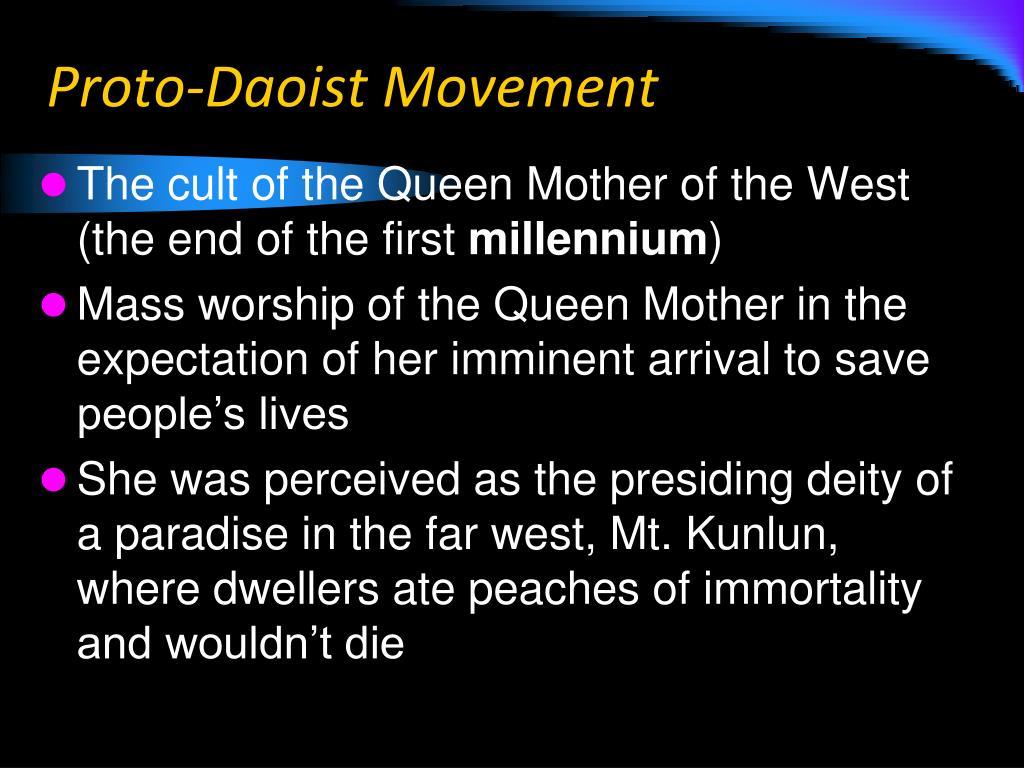 Proto-Daoist Movement