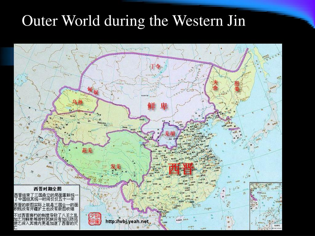 Outer World during the Western Jin