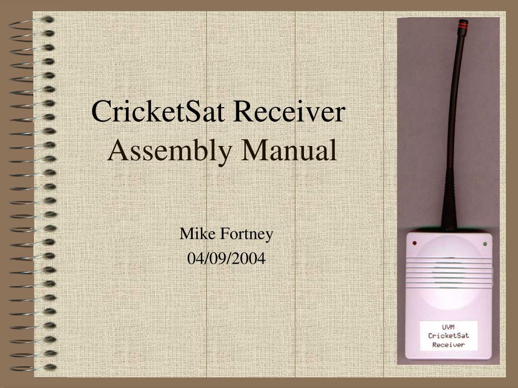 CricketSat Receiver