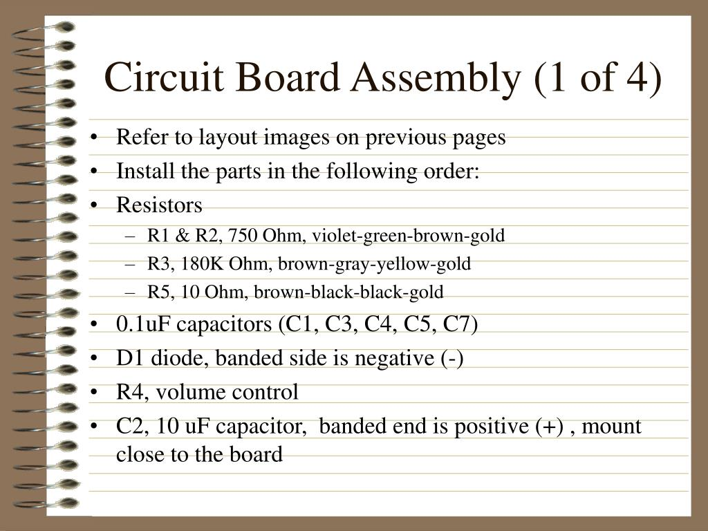 Circuit Board Assembly (1 of 4)