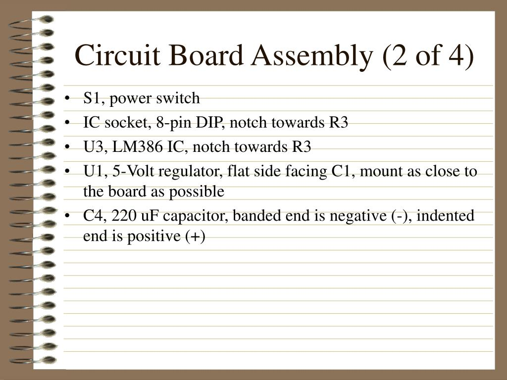 Circuit Board Assembly (2 of 4)