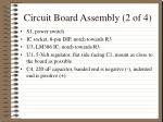 circuit board assembly 2 of 4