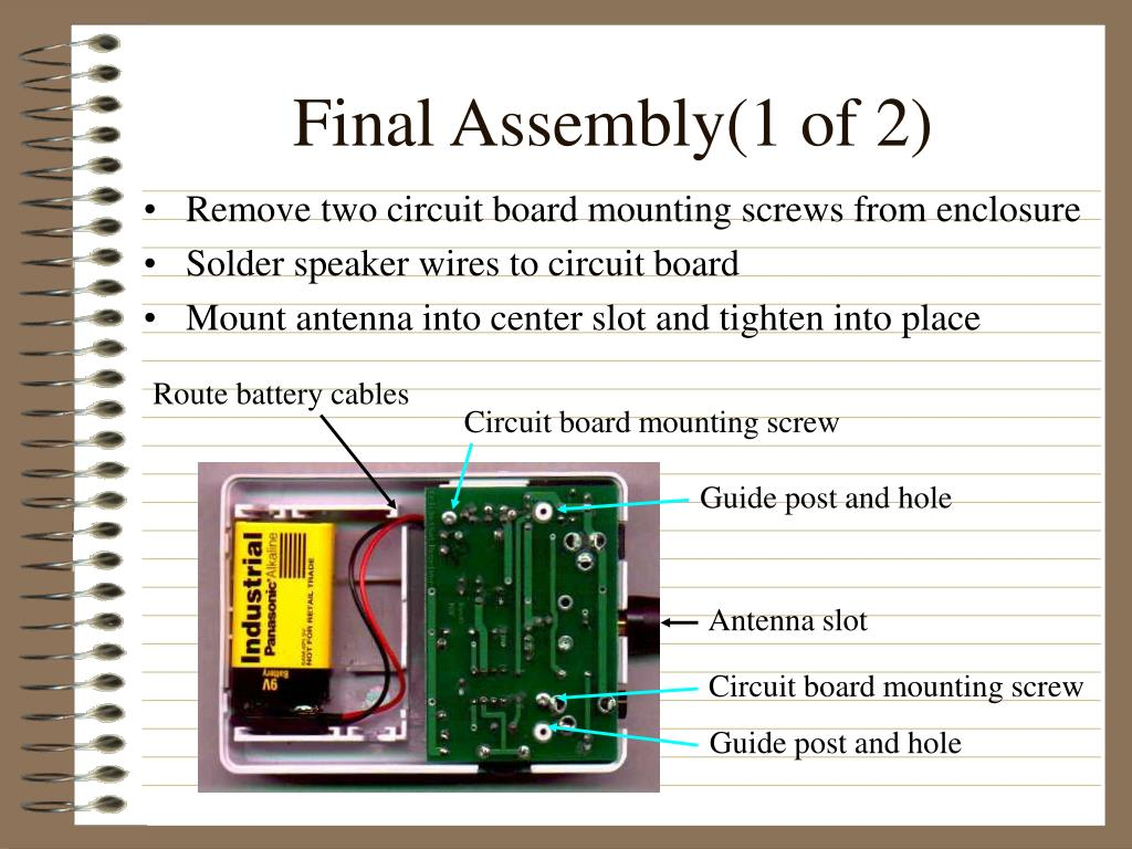 Final Assembly(1 of 2)