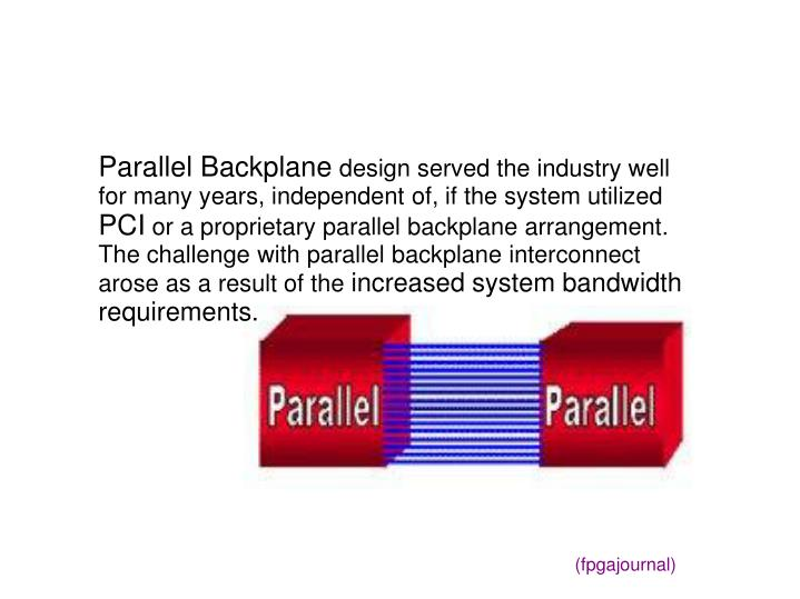 Parallel Backplane