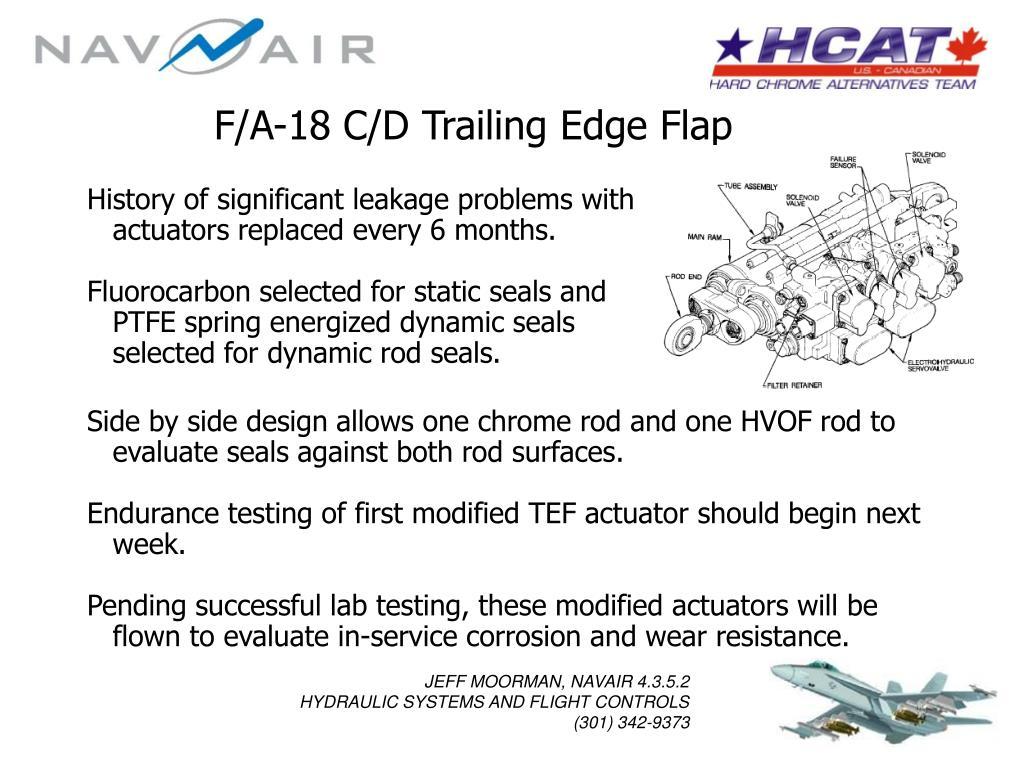F/A-18 C/D Trailing Edge Flap