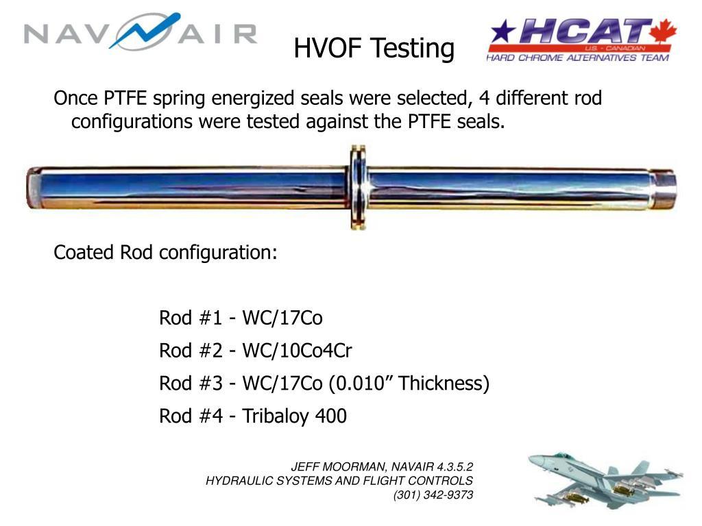 HVOF Testing