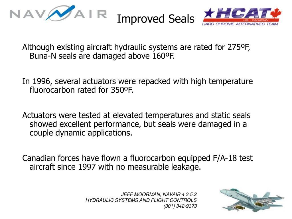Improved Seals