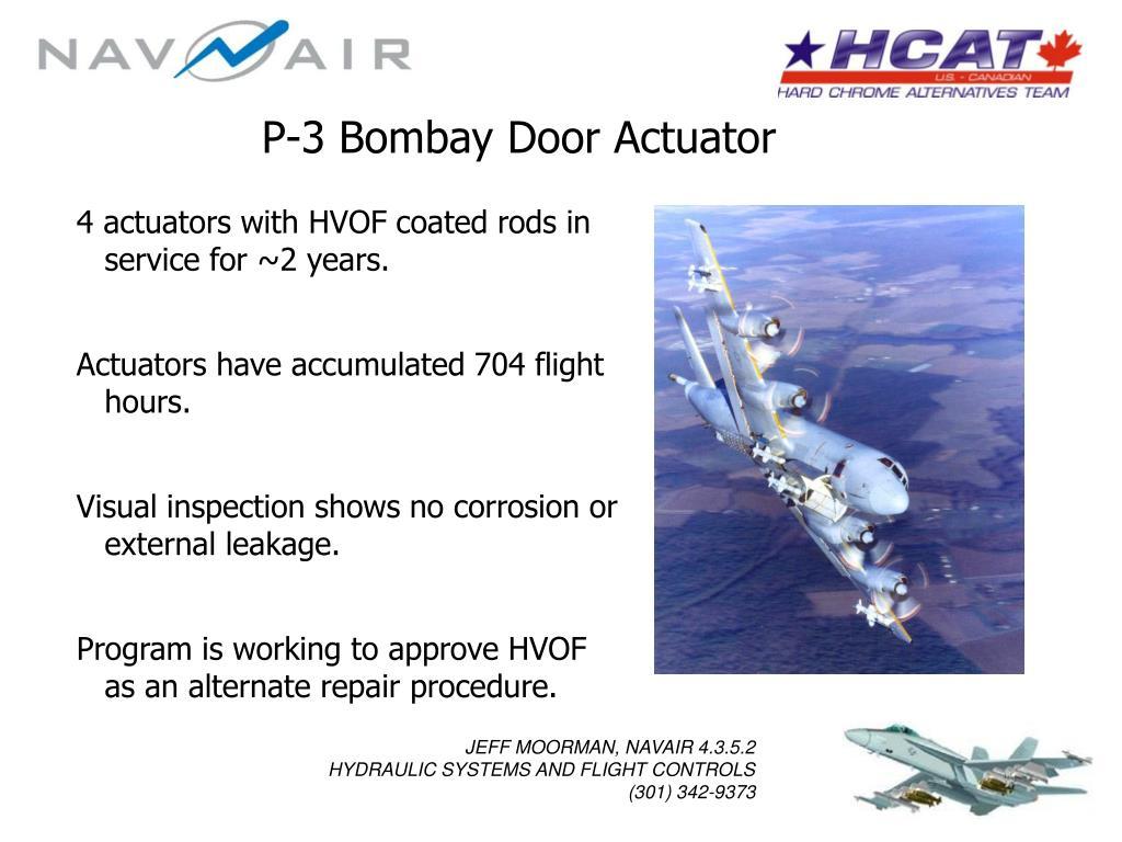 P-3 Bombay Door Actuator