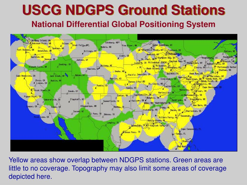 USCG NDGPS Ground Stations