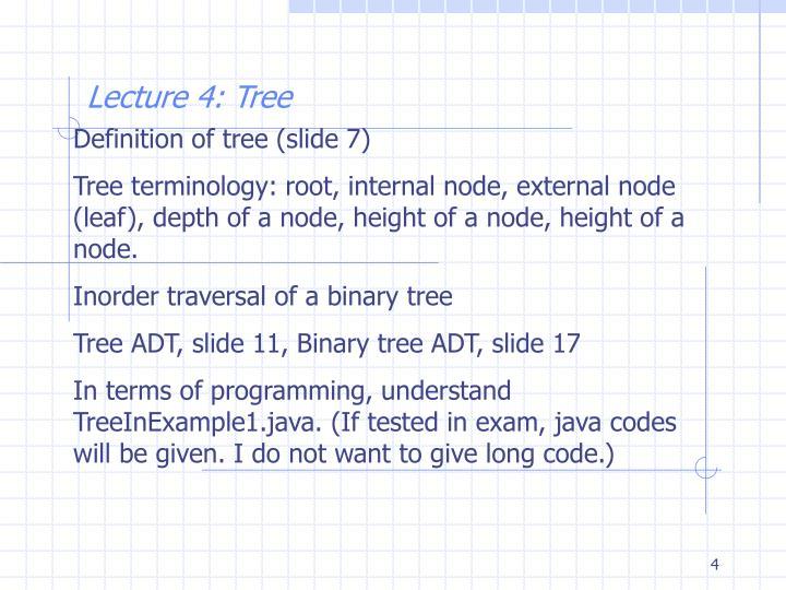 Definition of tree (slide 7)