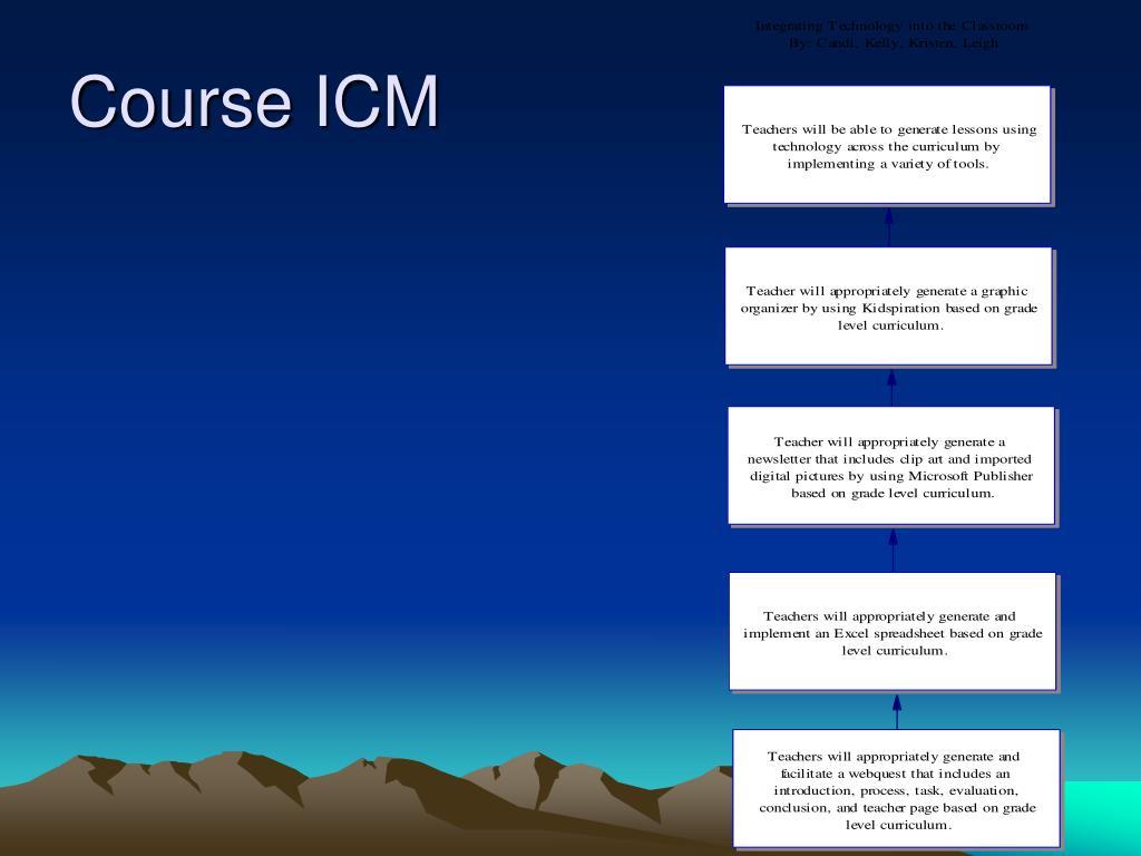 Course ICM