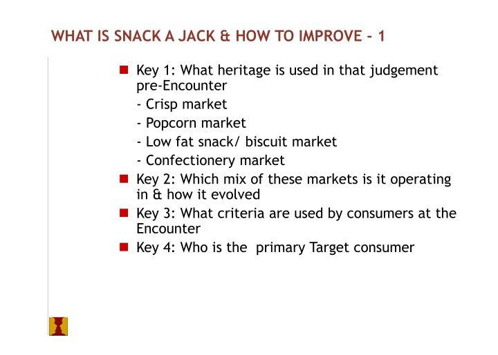 WHAT IS SNACK A JACK & HOW TO IMPROVE - 1