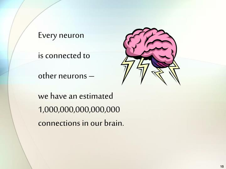 Every neuron