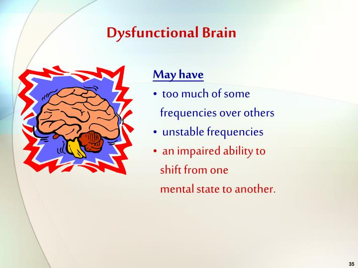 Dysfunctional Brain