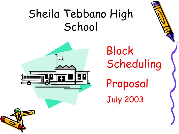 Sheila tebbano high school