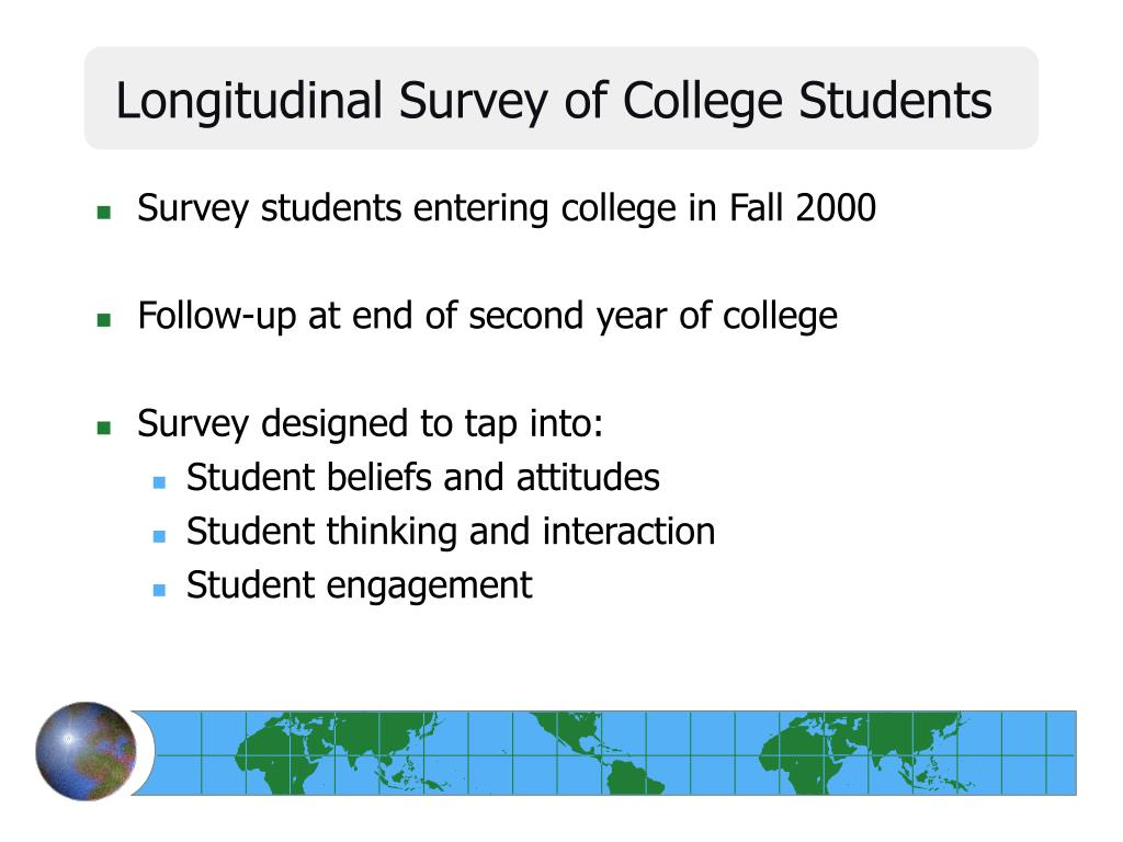 Longitudinal Survey of College Students