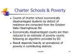 charter schools poverty