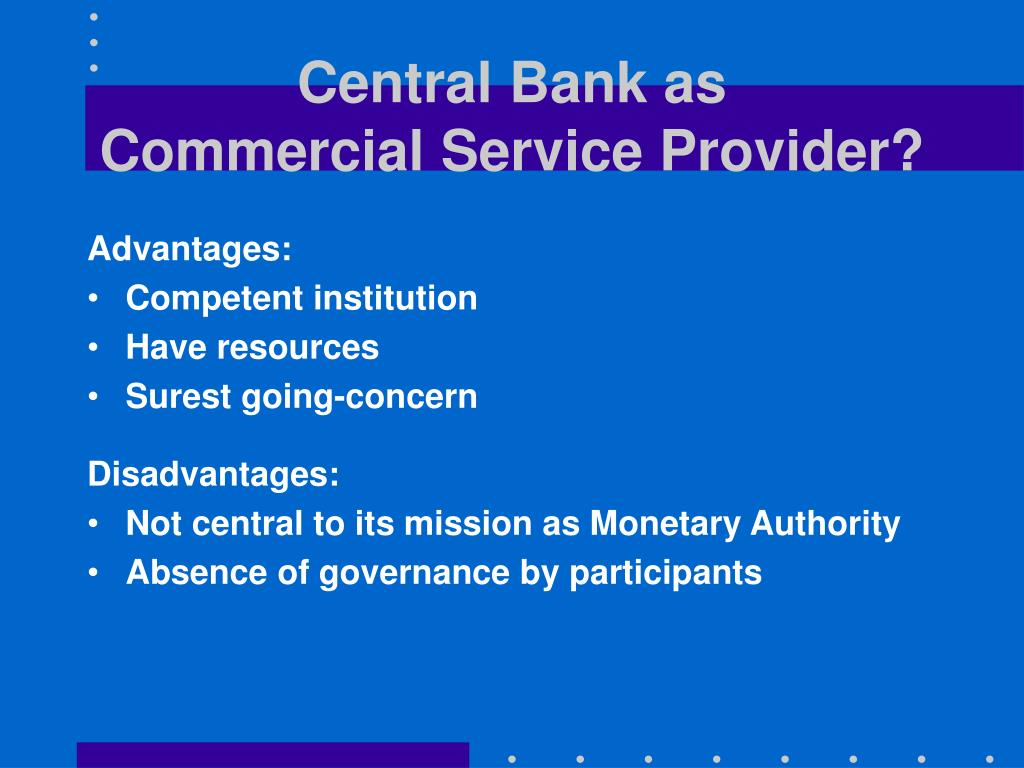 Central Bank as