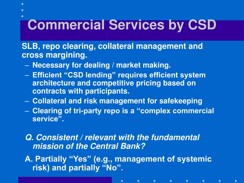 Commercial Services by CSD