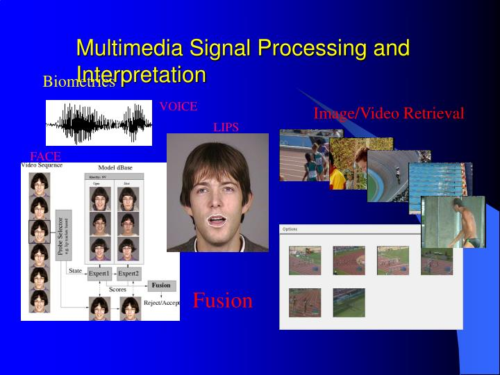 Multimedia Signal Processing and Interpretation