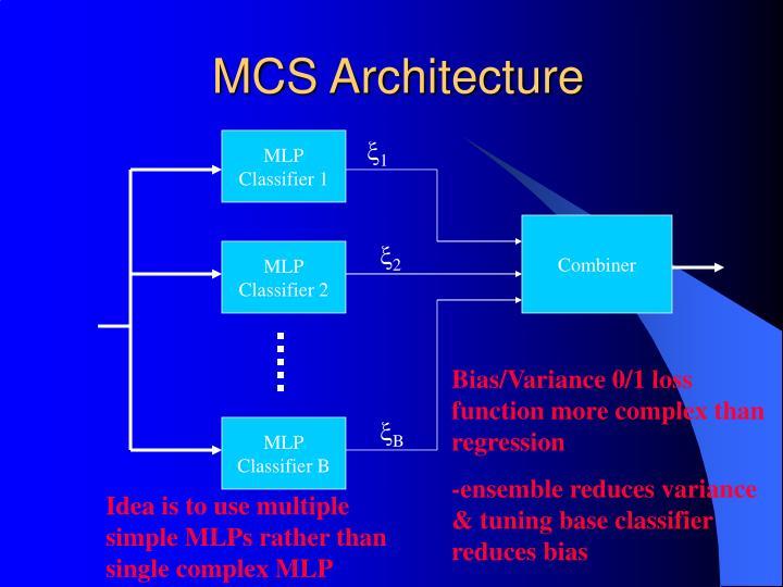 MCS Architecture