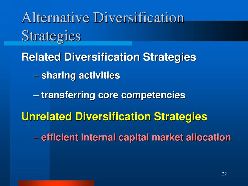 Related diversification strategy advantages