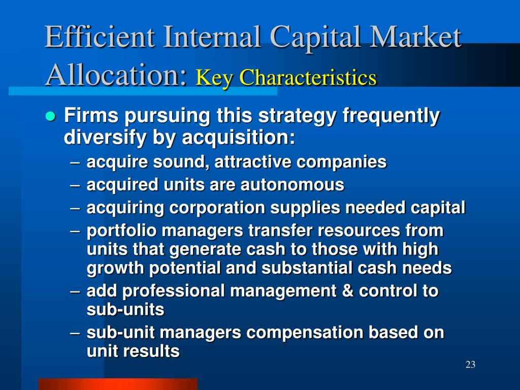 capital market efficiency thesis The central assumptions of the efficient market hypothesis in order to discuss the central thesis of this paper 'efficient capital markets.