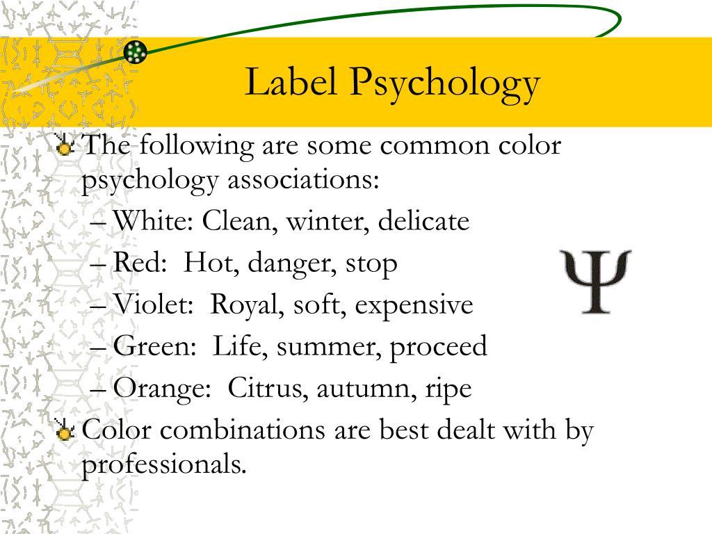 Label Psychology