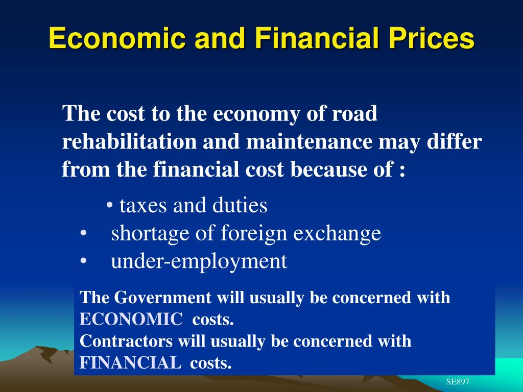 Economic and Financial Prices
