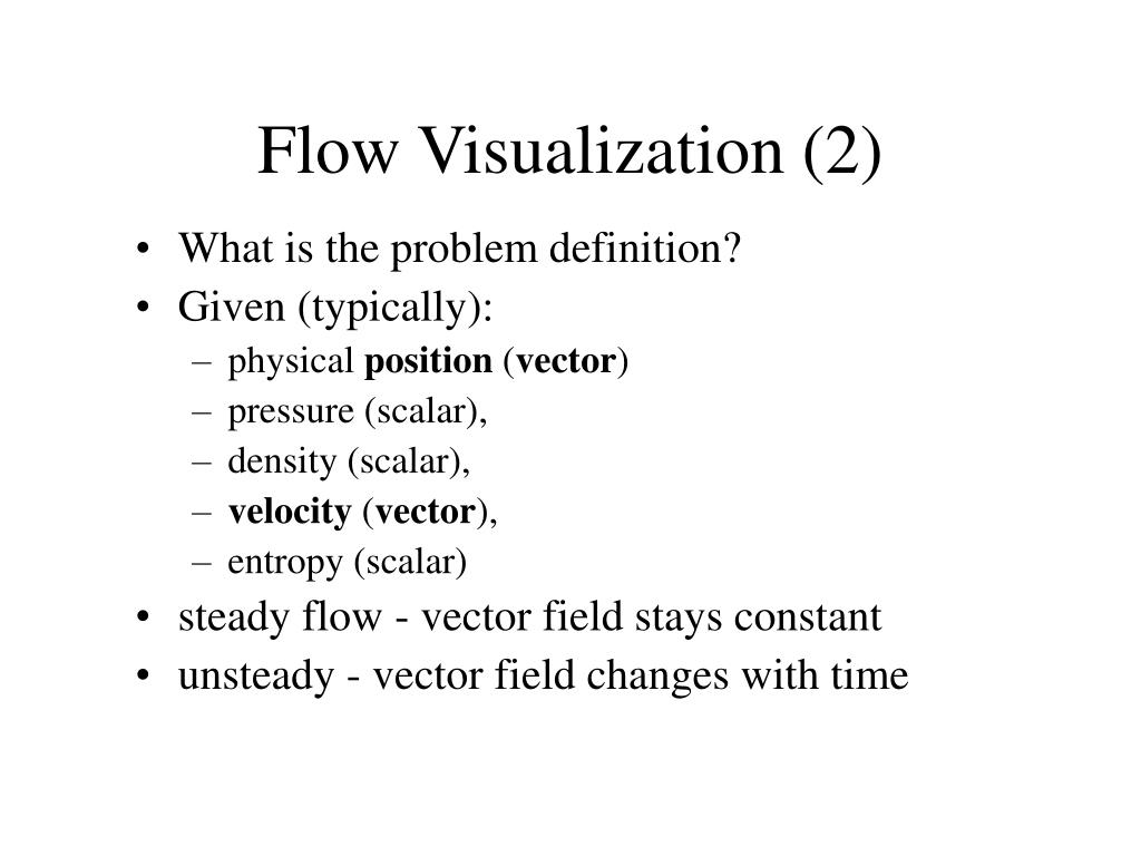 Flow Visualization (2)