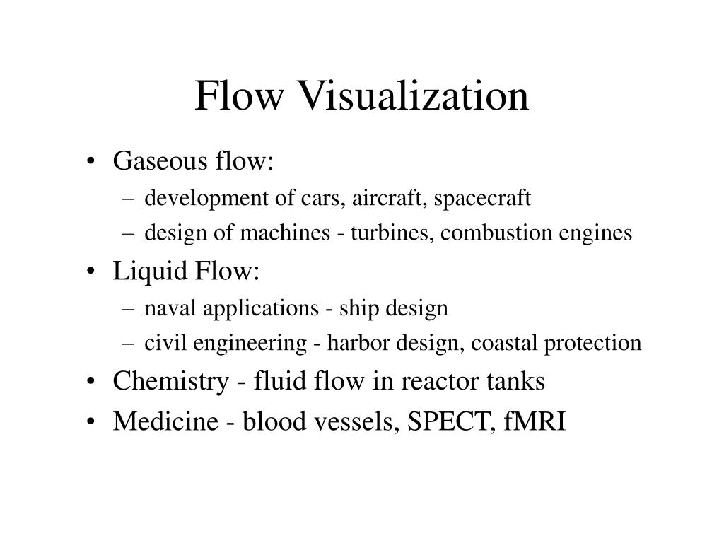 Flow Visualization