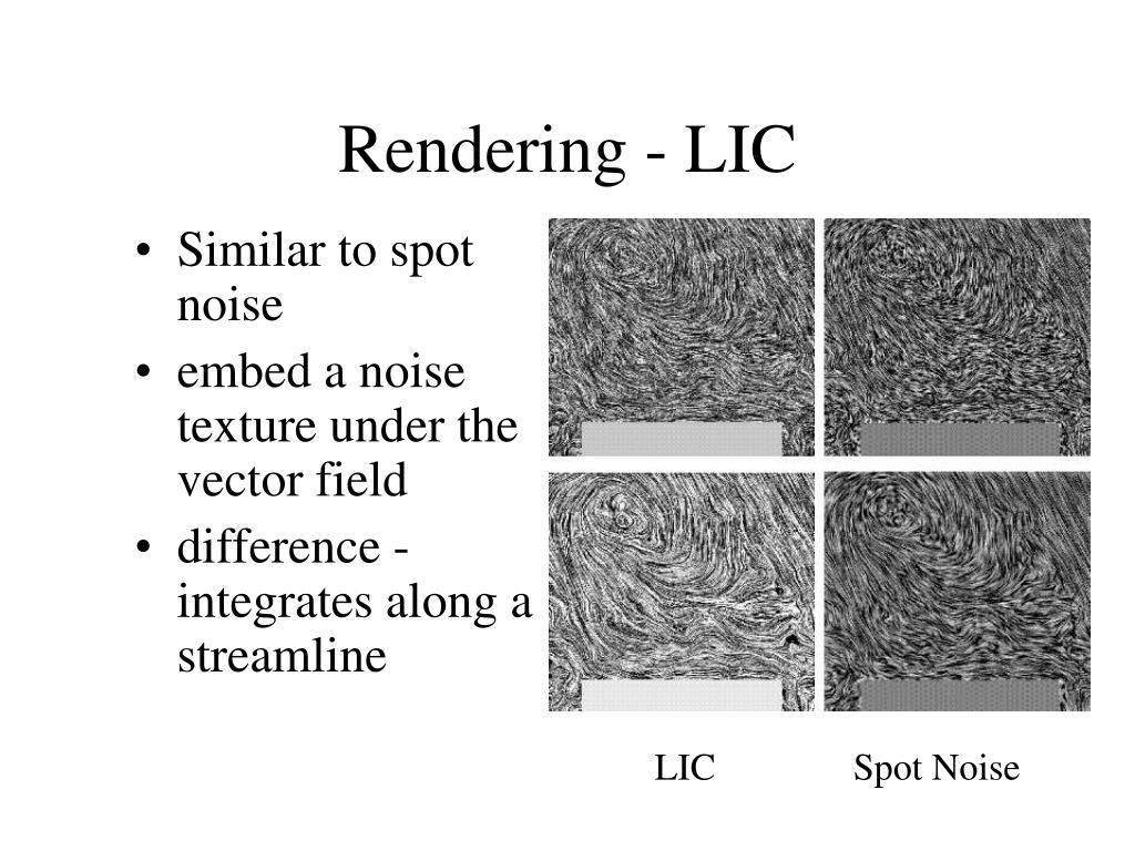Rendering - LIC