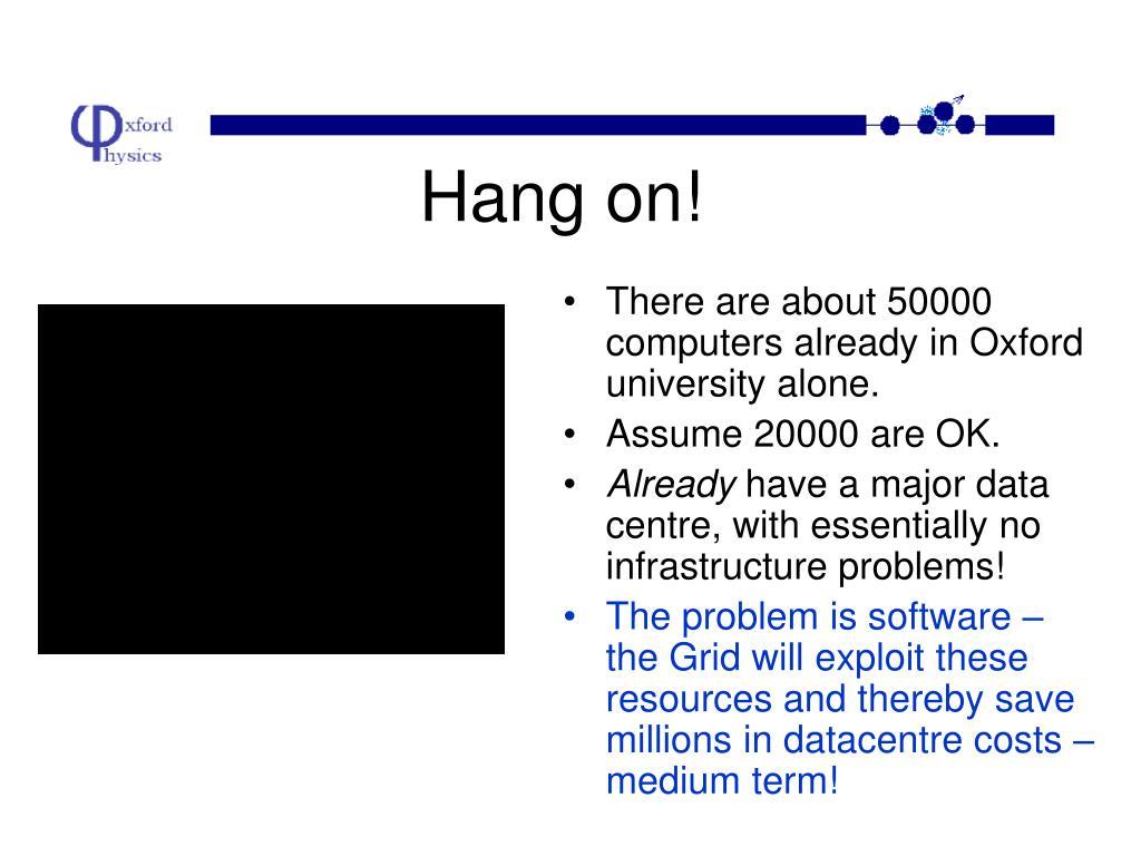 Hang on!