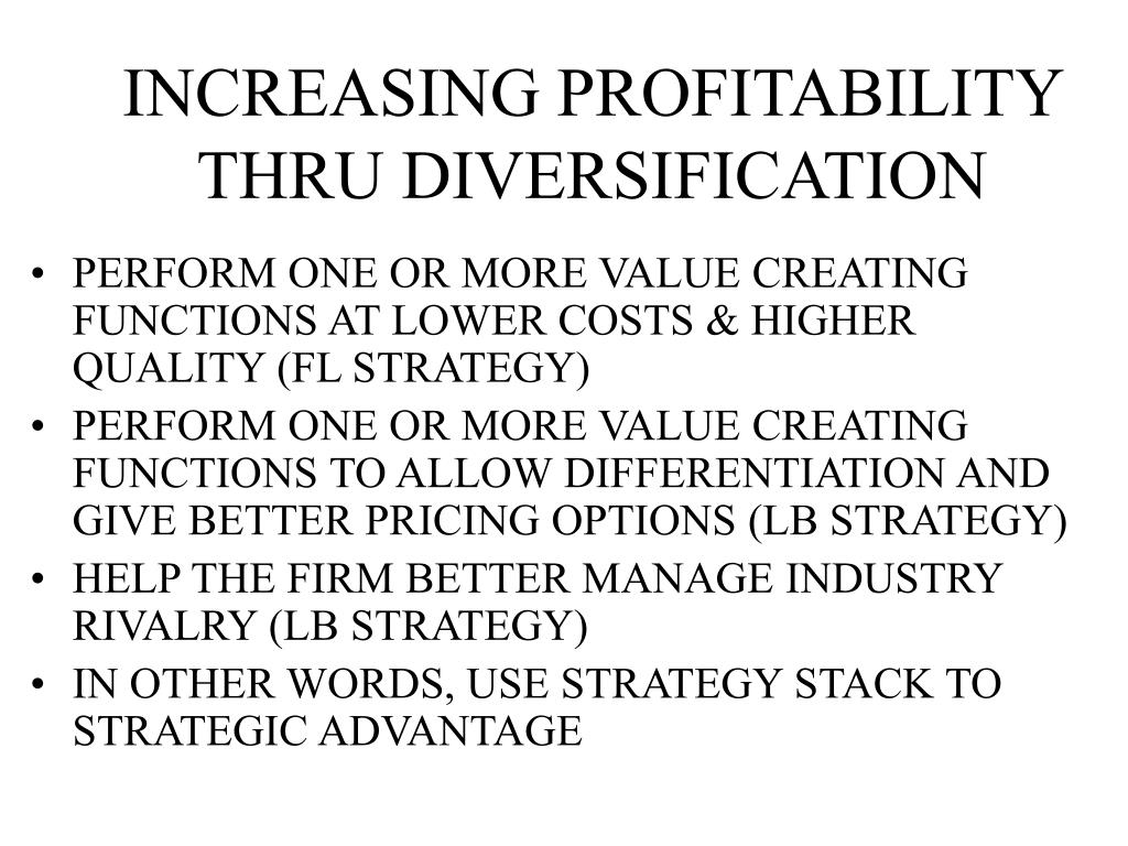 Related diversification strategy ppt