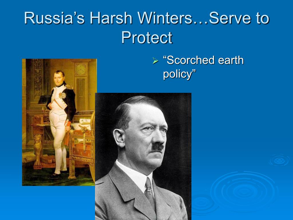 Russia's Harsh Winters…Serve to Protect
