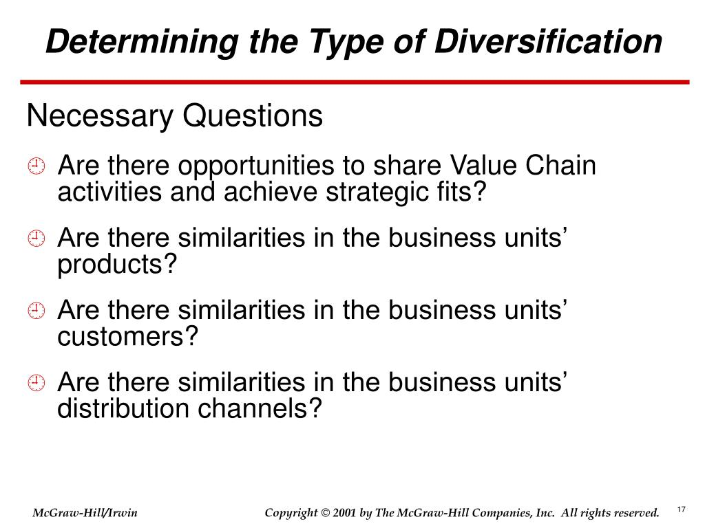 What are the two ways that an unrelated diversification strategy can create value