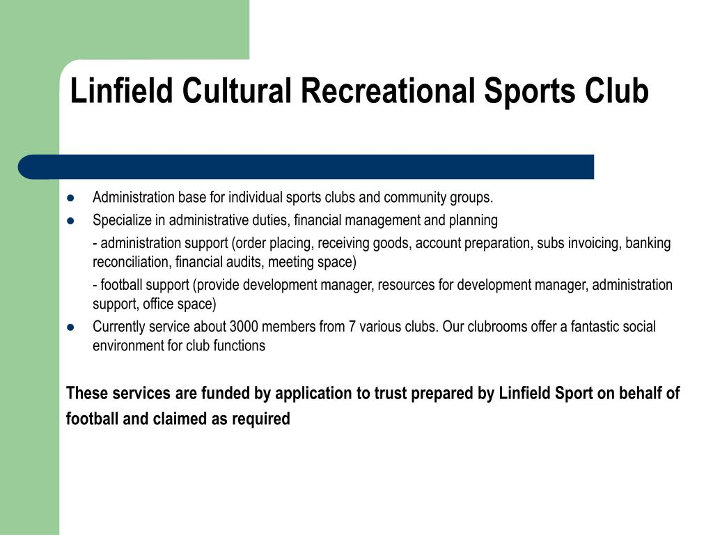 Linfield Cultural Recreational Sports Club