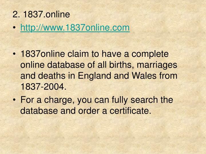 2. 1837.online
