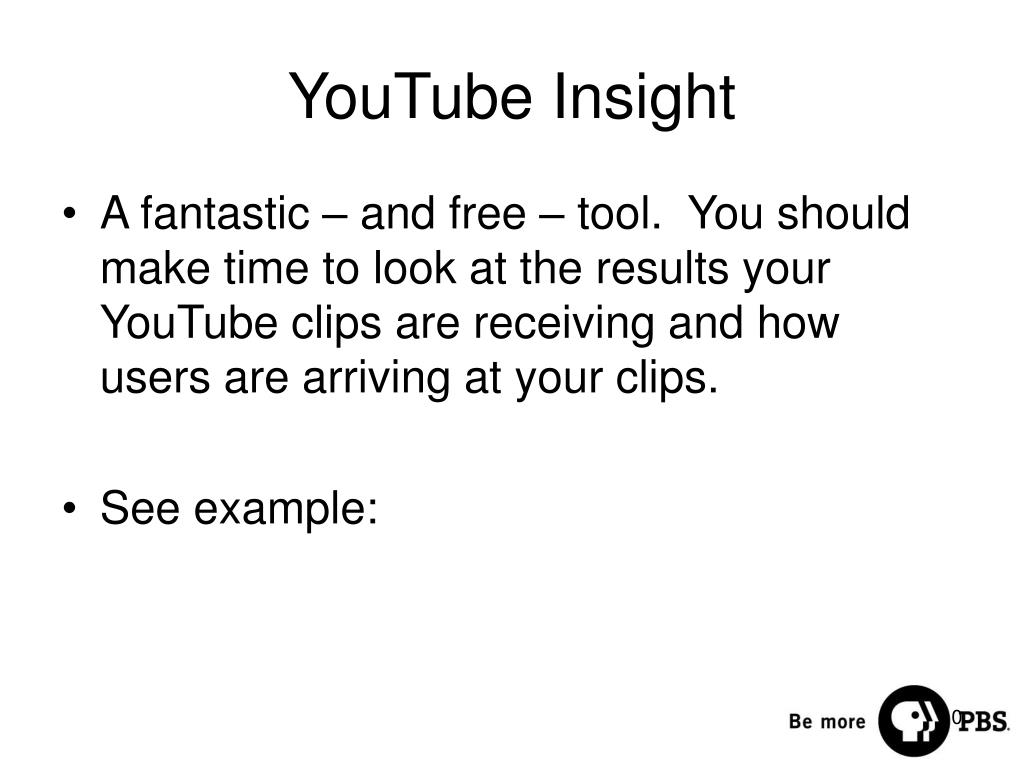 YouTube Insight
