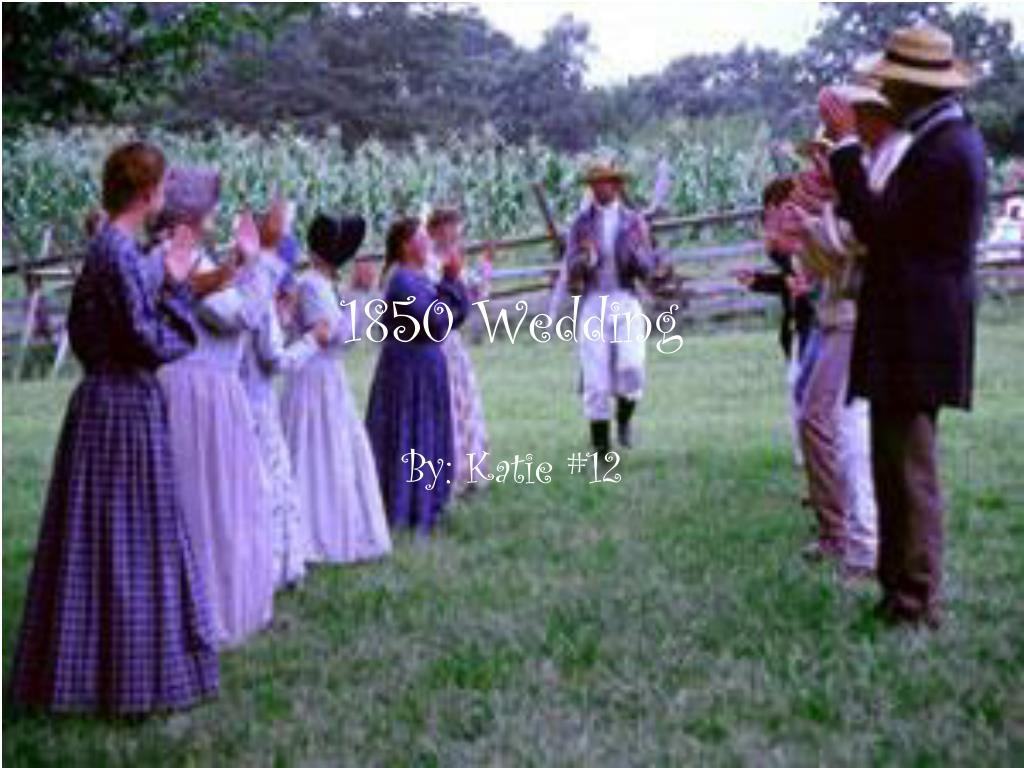 1850 Wedding
